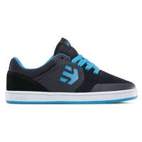 Etnies Kids Marana Navy Black Youth Skateboard Shoes