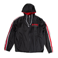 Thrasher Godzilla Black Mens Track Jacket