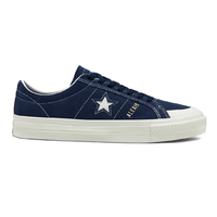 Converse One Star Pro Ox Obsidian Egret Mens Suede Skateboard Shoes