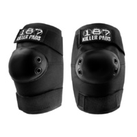 187 Killer Pads Elbow Black Pads
