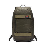 Nike SB Courthouse Sequoia Black Olive Glow Skateboard Backpack
