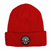 Independent x Thrasher Pentagram Cross Lipstick Long Shoreman Beanie