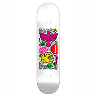 "Almost Sky Brown Skateistan Doodle 8.0"" Skateboard Deck"