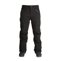 Ride Yesler Black Stretch Mens 15K 2018 Snowboard Pants