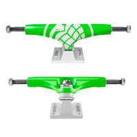 Thunder Crusher Green White Skateboard Trucks