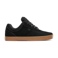 Etnies Joslin Black Gum Mens Suede Skateboard Shoes
