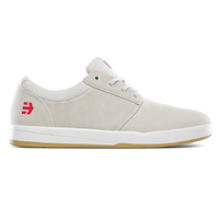 Etnies Score White White Gum Mens Suede Skateboard Shoes