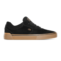 Etnies Joslin Vulc Black Gum Mens Suede Skateboard Shoes