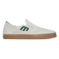 Etnies Marana Slip XLT White Green Gum Mens Skateboard Shoes