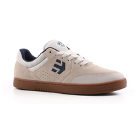 Etnies Marana x Happy Hour White Gum Mens Suede Skateboard Shoes