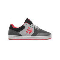 Etnies Kids Marana Dark Grey Grey Red Youth Skateboard Shoes