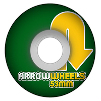 Arrow CS Formula Straight Shots Sandwich 53mm 83b Skateboard Wheels