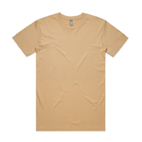 AS Colour Staple Tan Mens T Shirt