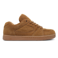 éS Accel OG Brown Gum Mens Skateboard Shoes