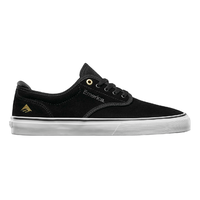Emerica Wino G6 Black White Mens Suede Skateboard Shoes