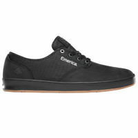 Emerica The Romero Laced Black Raw Mens Skateboard Shoes