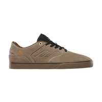 Emerica The Reynolds Low Vulc Tan Mens Suede Skateboard Shoes