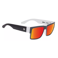 Spy Cyrus Whitewall Sunglasses Happy Grey Green Red Spectra Lens
