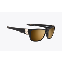 Spy Dirty Mo 2 25th Anniversary Matte Black Sunglasses HD+ Bronze Gold Lens