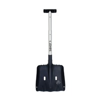 Jones Escavator Silver Snowboard Shovel