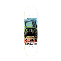"Slave Bored Colour TV 9.0"" Skateboard Deck"