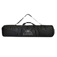 Drake Padded Plus Pockets Black Snowboard Bag