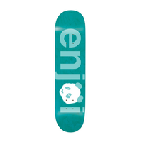"Enjoi No Brainer Blue 8.0"" Skateboard Deck"
