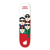 "Enjoi Big Dreams Nestor Judkins 8.25"" Impact Light Skateboard Deck"