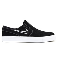 Nike SB Zoom Stefan Janoski Slip Black Light Bone White Mens Skateboard Shoes