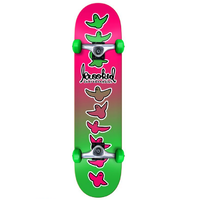 "Krooked Birdical Fade Pink Green 7.75"" Complete Skateboard"