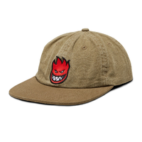Spitfire Bighead Fill Olive Red Adjustable Strapback Cap