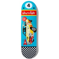 "Chocolate Rally Car Stevie Perez 8.375"" Skateboard Deck"