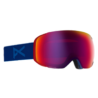 Anon Asian M2 Blue Mens 2019 Snowboard Goggles Sonar Infrared Blue Lens