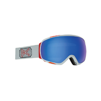 Anon Tempest White Rose 2020 Snowboard Goggles Sonar Blue Lens + MFI Facemask