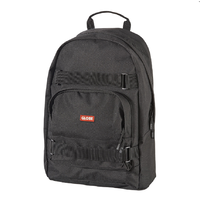 Globe Thurston Black Black Skateboard Backpack