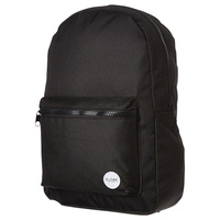 Globe Deluxe Black Black Skateboard Backpack