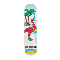 "Meow Flamingo 7.75"" Skateboard Deck"