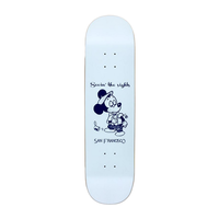 "Snack Seein' The Sights Blue 8.25"" Skateboard Deck"