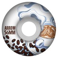 Arrow AS OG Coffee Cruiser 54mm 85a Skateboard Wheels