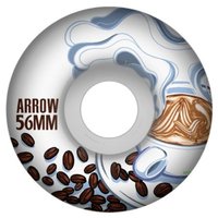Arrow AS OG Coffee Cruiser 56mm 85a Skateboard Wheels