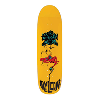"Welcome Lessrach On Atheme Yellow 8.8"" Skateboard Deck"