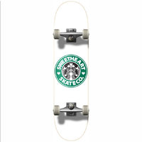 "Sweetheart Coffee 7.75"" Complete Skateboard"