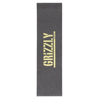 "Grizzly Stamp Gold 9"" 33"" Skateboard Griptape"