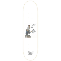 "Sweetheart Brunch At Gunpoint Pene Graf 8.0"" Skateboard Deck"