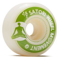 Satori Movement Slim Meditation Series Green 55mm 98a Skateboard Wheels