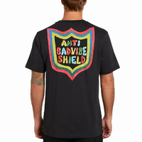 Volcom Vibes Black Mens Short Sleeve Tee