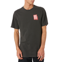 Volcom Concussion Black Mens Short Sleeve Tee