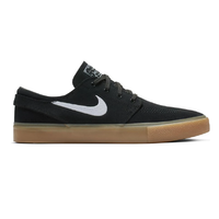 Nike SB Zoom Janoski RM Black White Black Gum Mens Skateboard Shoes