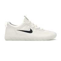 Nike SB Nyjah Free 2 Summit White Black Mens Skateboard Shoes
