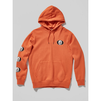 Volcom Supply Stone Burnt Orange Youth Pullover Hoodie